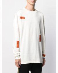 メンズ Heron Preston Crazy Label Tシャツ White
