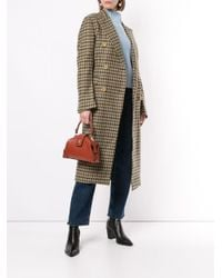 Cappotto a quadri The Cindy di Giuliva Heritage Collection in Multicolor