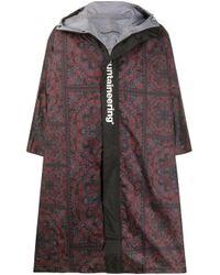White Mountaineering Multicolor Bandana Paisley Print Coat for men