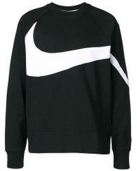Nike Blue French Terry Sweatshirt for men