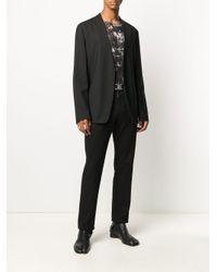メンズ Y. Project プリント ロングtシャツ Black