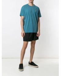 メンズ Osklen Coroa プリント Tシャツ Blue