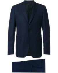 Tagliatore - Blue Classic Formal Suit for Men - Lyst