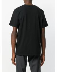 WOOD WOOD - Black Solid T-shirt for Men - Lyst