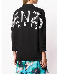 Felpa con logo di KENZO in Black