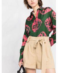Twin Set ベルテッド ショートパンツ Multicolor