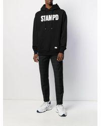 Sweat à capuche à logo imprimé Stampd pour homme en coloris Black