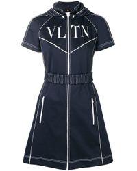 Valentino Vltn ワンピース Blue