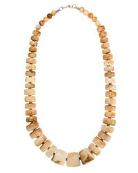 Olympiah Yellow Marrocos Geometric Necklace