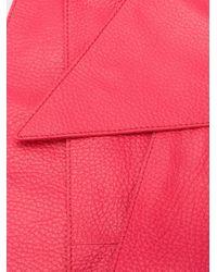 Orciani エンボス ベルト Pink