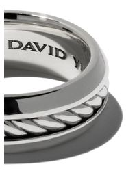 David Yurman - Metallic Cable Classic Band Ring for Men - Lyst