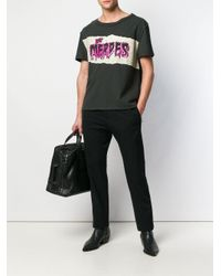 T-shirt con stampa di Maison Margiela in Multicolor da Uomo