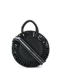 Stella McCartney ステラロゴ ハンドバッグ Black
