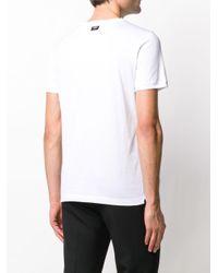 T-shirt classique Fendi pour homme en coloris White