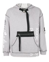 Blood Brother - Gray Palladian Hoodie for Men - Lyst