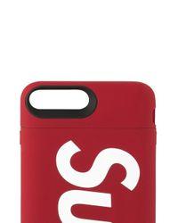 メンズ Supreme Mophie Iphone Juice Pack ケース Red