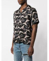 Amiri Hemd mit Print in Black für Herren