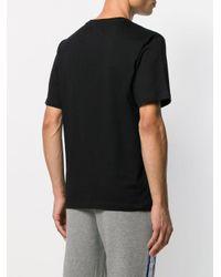 Calvin Klein Black Embroidered Logo T-shirt for men