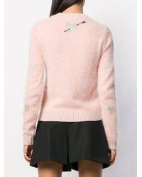 RED Valentino ハート セーター Pink