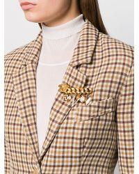 Versace メデューサ ブローチ Multicolor