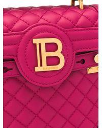 Borsa a spalla di Balmain in Pink