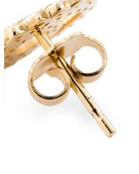 KENZO Metallic 'eye' Earrings