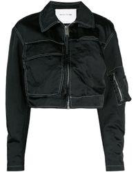 1017 ALYX 9SM Black Cropped Multi-pocket Jacket