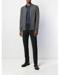 Pantaloni sartoriali slim di PT01 in Gray da Uomo