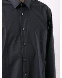 メンズ BOSS by Hugo Boss コットンシャツ Blue