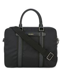 Dolce & Gabbana - Black 'mediterraneo' Laptop Bag for Men - Lyst