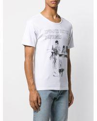 メンズ Enfants Riches Deprimes グラフィック Tシャツ White