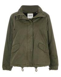 Aspesi Green Military Jacket