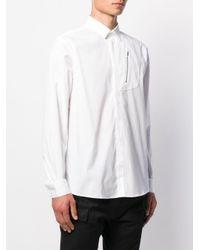 メンズ Les Hommes ロングスリーブ シャツ White