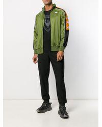 Kappa Jacke mit Logo-Streifen in Green für Herren
