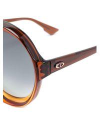 Gafas de sol Bianca Dior de color Brown
