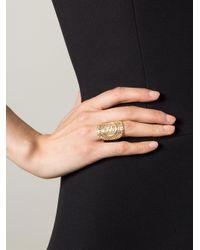 Wouters & Hendrix Metallic Filigree Ring