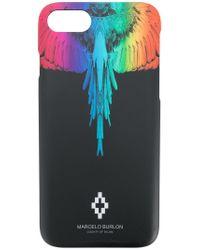 Marcelo Burlon Black Rainbow Wings Iphone 7 Case