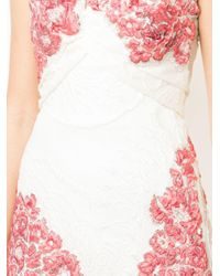 Rubin Singer White Textured Mini Dress
