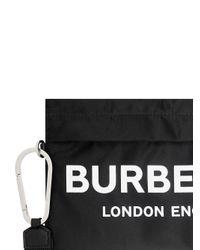 Burberry ロゴ ポーチ Black