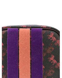 Sac à bandoulière imprimé COACH en coloris Purple