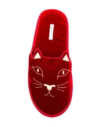 Charlotte Olympia キャット ミュール Red