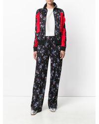 MSGM | Multicolor Floral Print Embossed Jacket | Lyst