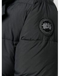 メンズ Canada Goose キルティング ボンバージャケット Black