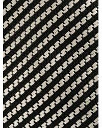 メンズ Tom Ford ストライプ ネクタイ Black