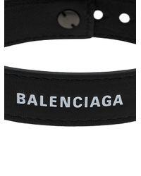Balenciaga Bewerkte Manchetten in het Black voor heren