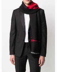 Sciarpa bicolore di Givenchy in Black da Uomo
