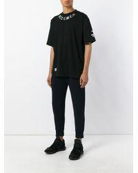 KTZ | Black Neck Logo Print T-shirt for Men | Lyst