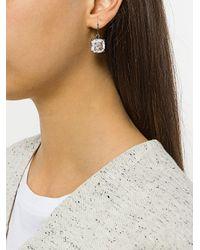 Bottega Veneta - Metallic Glass Earrings - Lyst