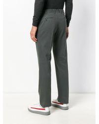 PT01 Green Slim-fit Trousers for men