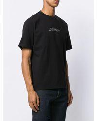 メンズ Golden Goose Deluxe Brand ロゴ Tシャツ Black